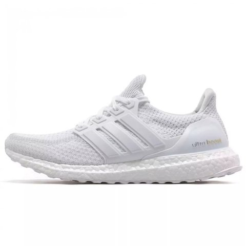 c4ec48cb58b Adidas Ultra Boost Triple White 2.0 UK 11    BNIB - Depop