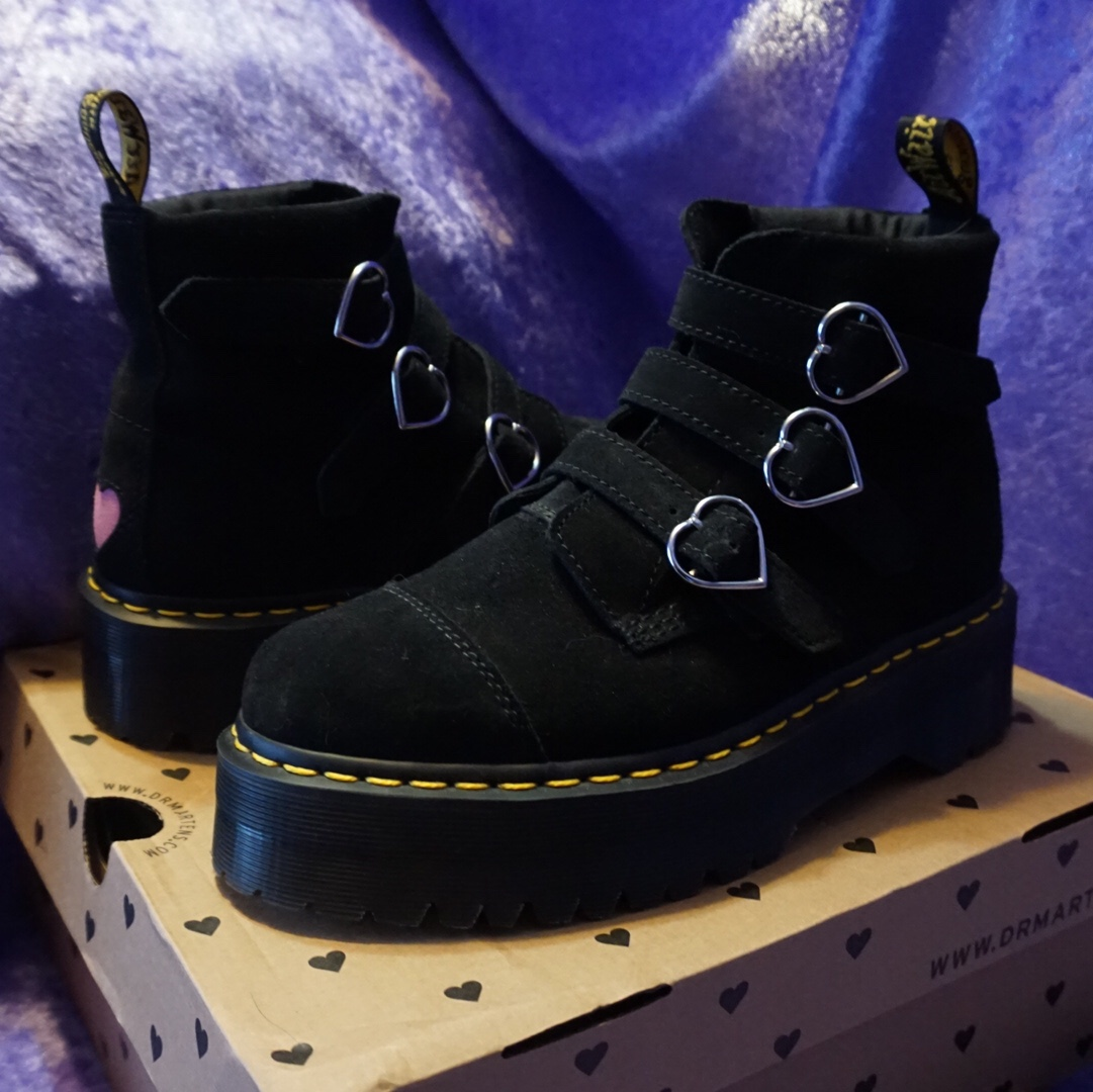 The Buckle boot is a collab with London based brand Lazy Oaf