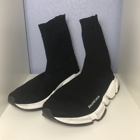 7574fe3613f38 100% AUTHENTIC Balenciaga sock runners in size 40 (Women s a - Depop