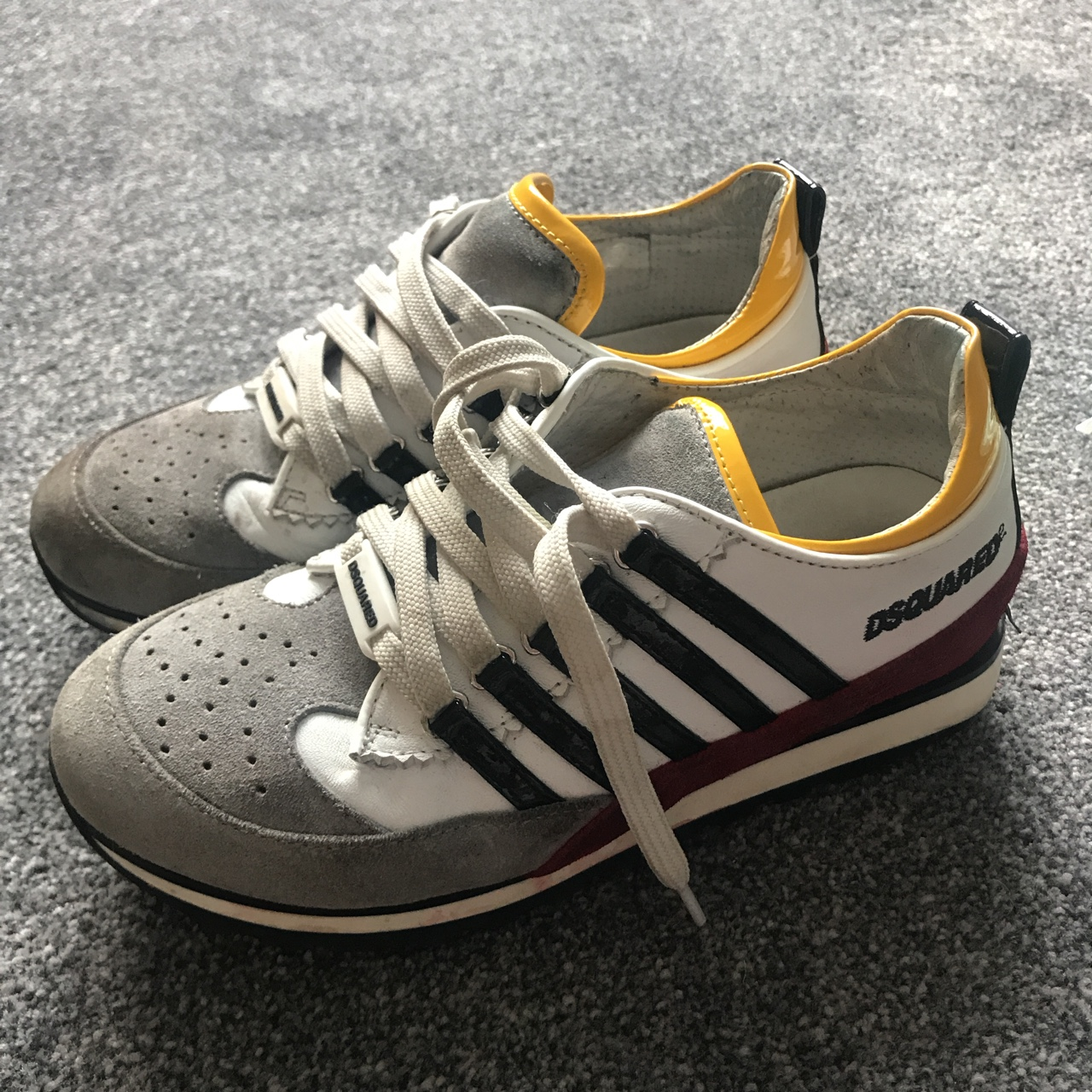 Size34 kids dsquared trainers good