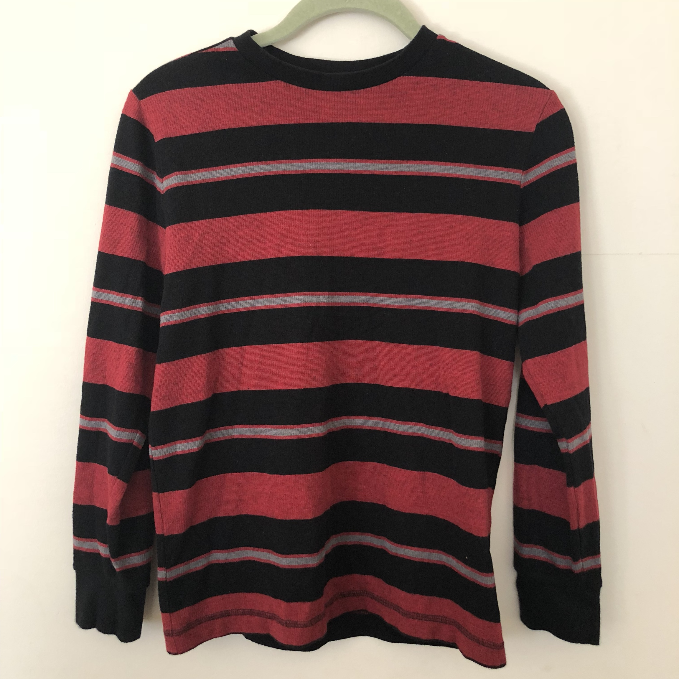 6691862f4f  sabrinasrad. last year. United States. Black and red striped top. Cool  edgy 90s grunge ...