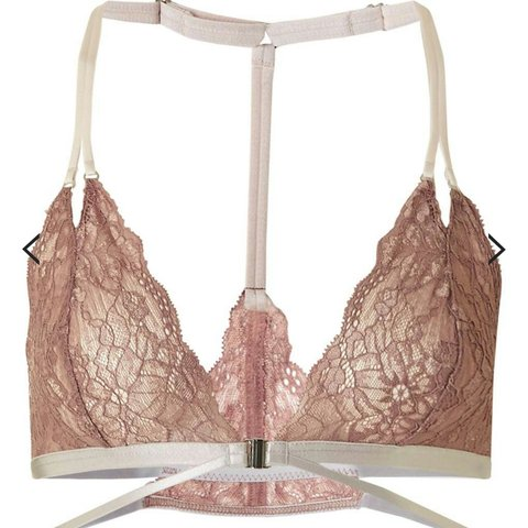 72e6360f6cd Topshop Strappy Lace Triangle Bra . Size 14. Brand new with - Depop