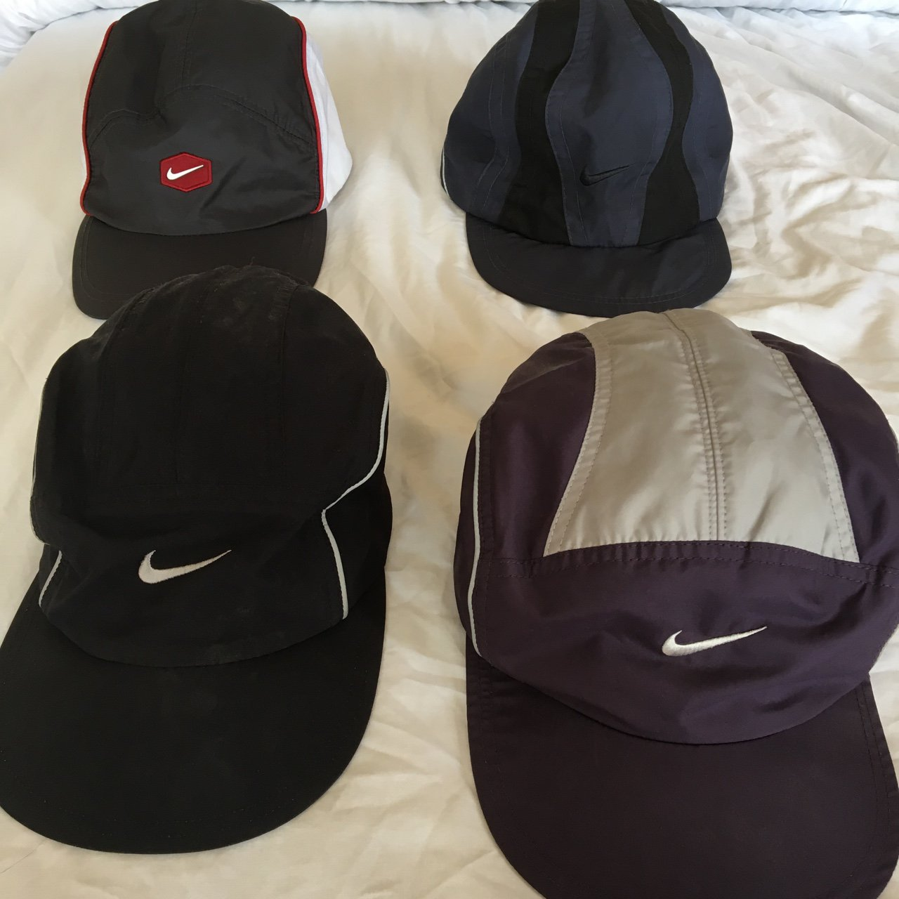 Nike clima fit hats. Very rare hats hard to find. Top left - Depop fba32e5d6db