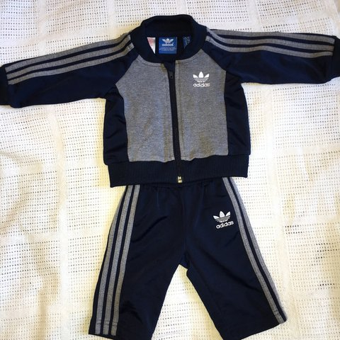 aa7ae8bbb @megwbu. 2 years ago. Liverpool, UK. Adidas tracksuit • perfect condition •  0-3 months • boys ...