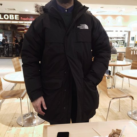 North Face Mcmurdo Parka Jacket. Men s SMALL. Worn once e74f726e3