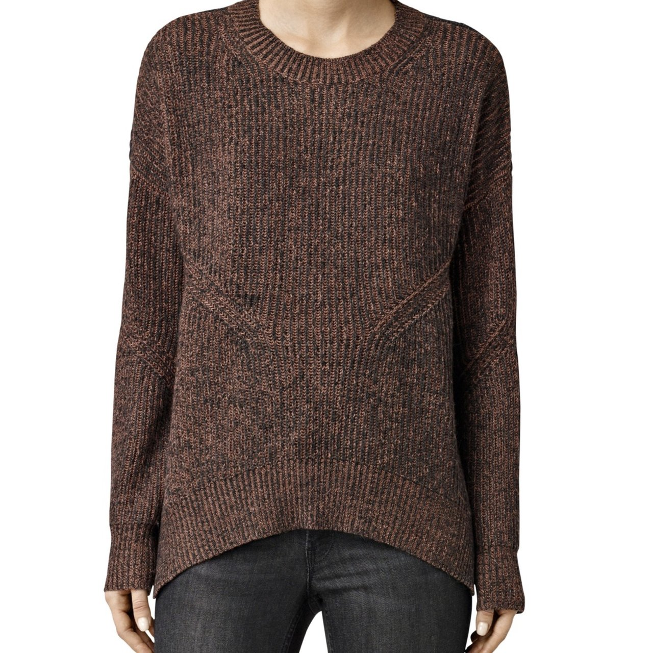 f036ae5c11 ALLSAINTS VELO KNIT SWEATER SIZE SMALL (but is baggy so can - Depop