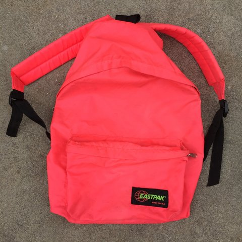 Vintage 1980s or early 90s Eastpak backpack. Made in USA. IS - Depop 2e16081fc00f9