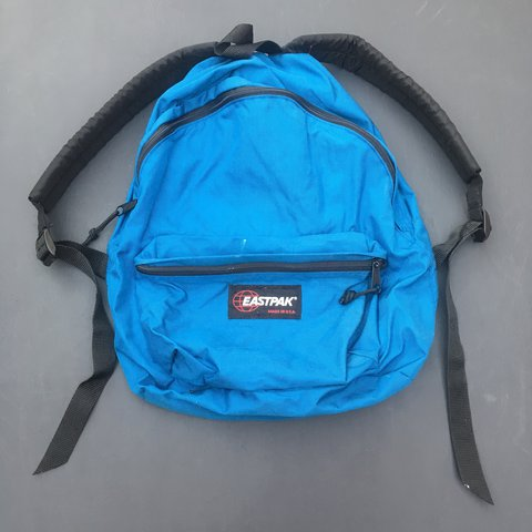 Vintage 90s Eastpak backpack. Made in USA. Very good except - Depop