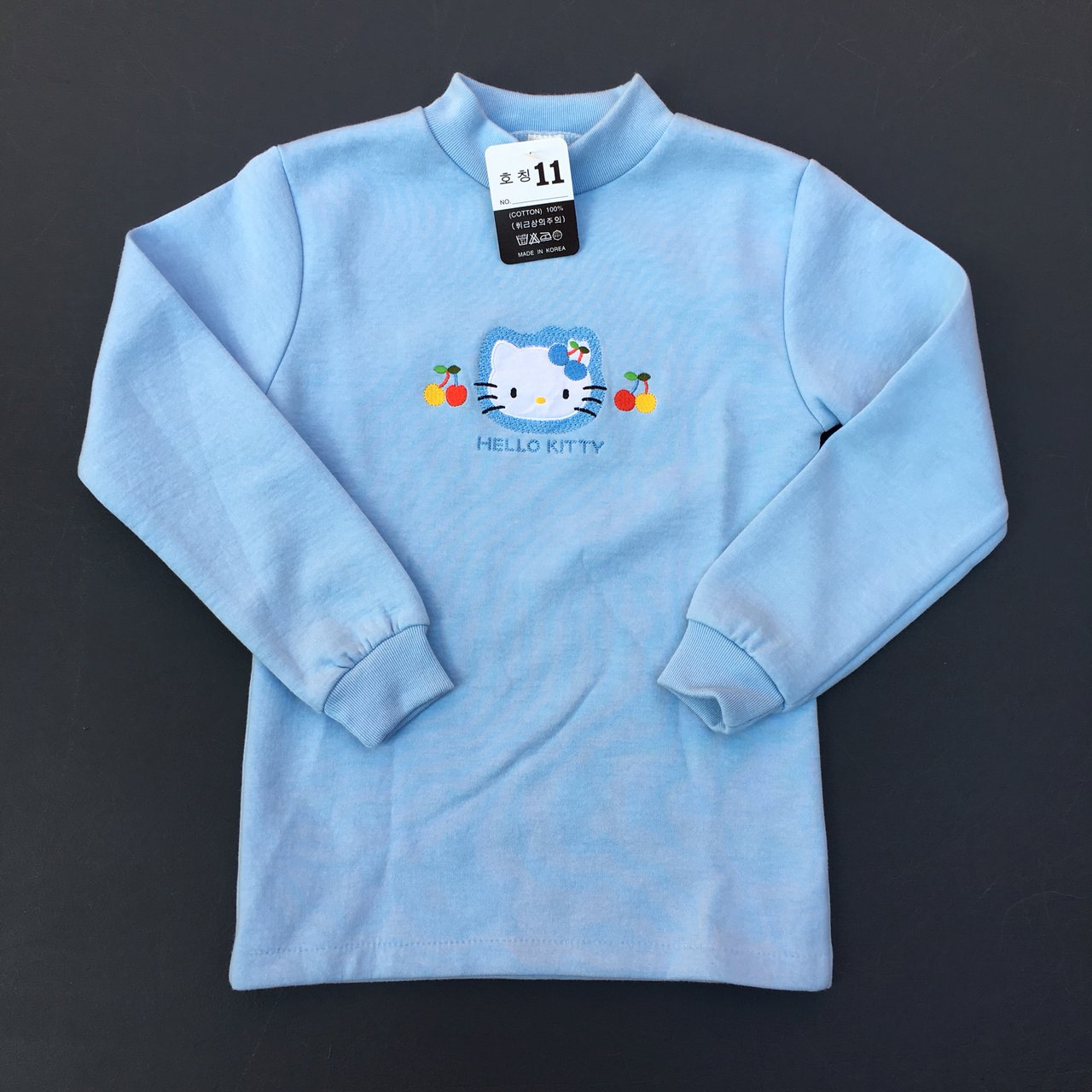 175c6c78a @nightcourt. last year. Richmond, United States. Hello Kitty embroidered  youth pullover.