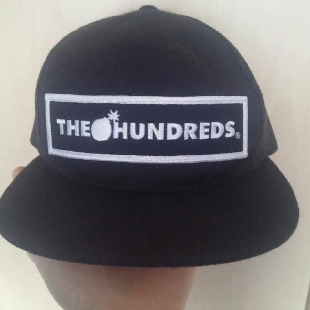 9eb8594f3 The Hundreds trucker hat New 10/10 condition... - Depop