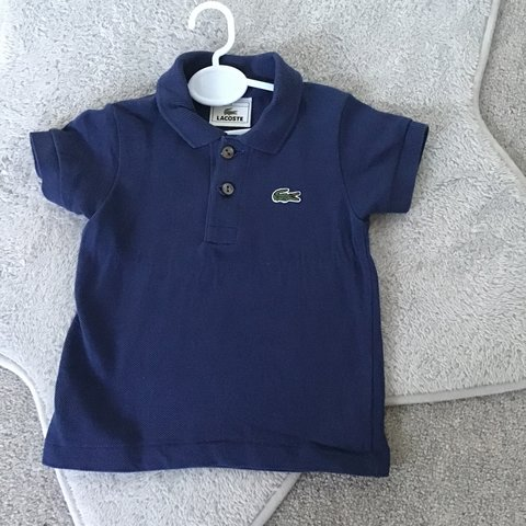 8a00ad3d0 @abbieuuy. 3 months ago. Sittingbourne, United Kingdom. Baby Lacoste polo  size 1 year fab condition worn once ...