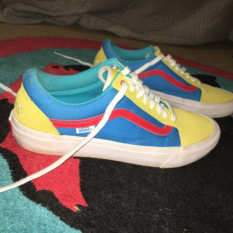 217194523a73 Still 4 Sale !!) Mens Size 10.5 Golf Wang Tri-Color Old - Depop