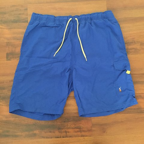 0660ce731 Polo Ralph Lauren board shorts (good condition) men s size - Depop