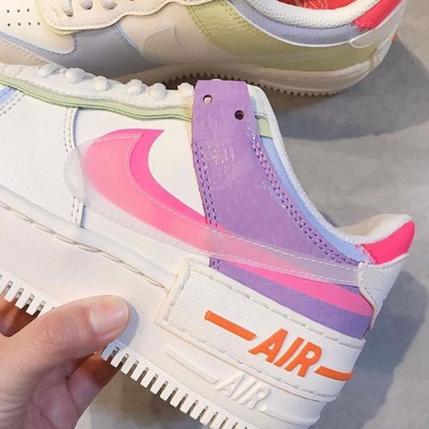 Najboljse Na Spletu Aliexpress Pozneje Nike Air Force 1 Shadow Gel Pale Ivory Multi Dianehaleschoolofdance Com Browse our nike air force 1 shadow gel pastel collection for the very best in custom shoes, sneakers, apparel, and accessories by independent artists. dianehaleschoolofdance com