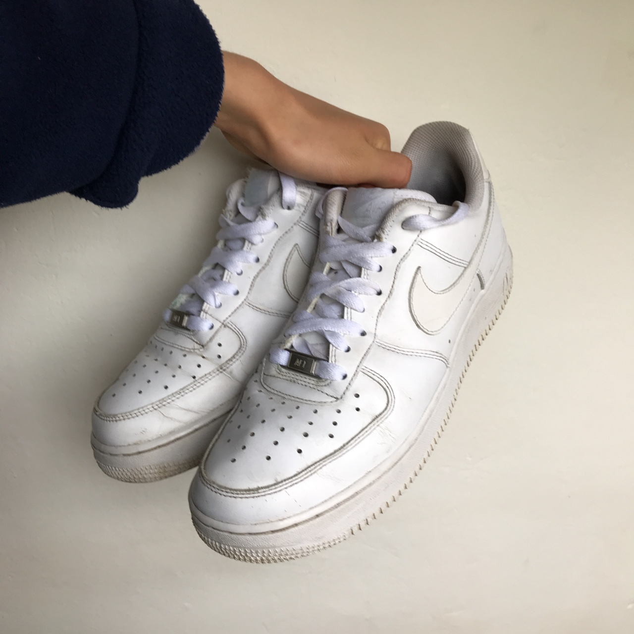 Nike Air Force 1 white . 6/10 condition