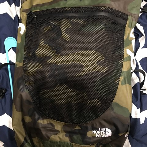 e48fefe0b7 @prismo. 2 years ago. Ashland, United States. PRICE DROP Supreme X The  North Face woodland camo waterproof backpack.