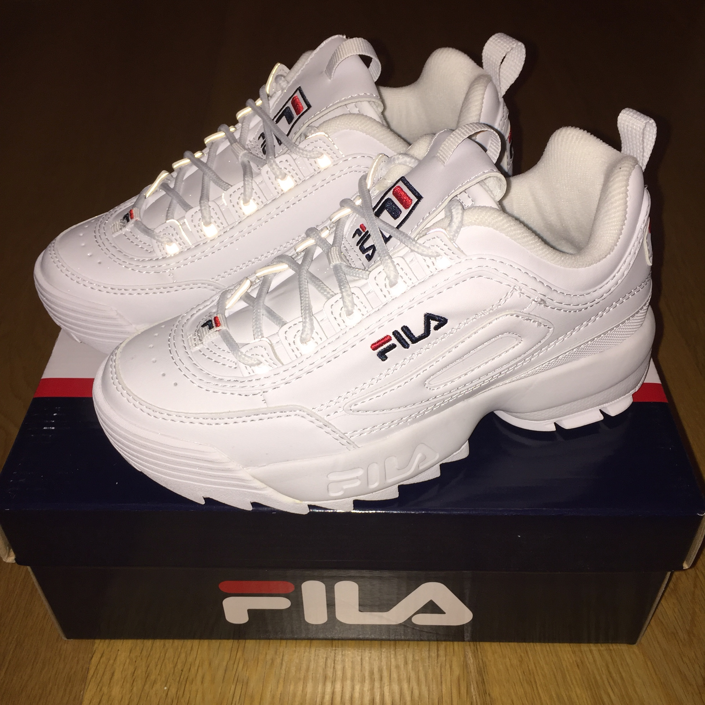 fila disruptor in size UK 3.5 / US 6 / EU 37 brand... - Depop