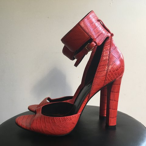 489e1bf02  lglading. 2 years ago. United States. Alexander Wang  Aminata  red  crocodile ...
