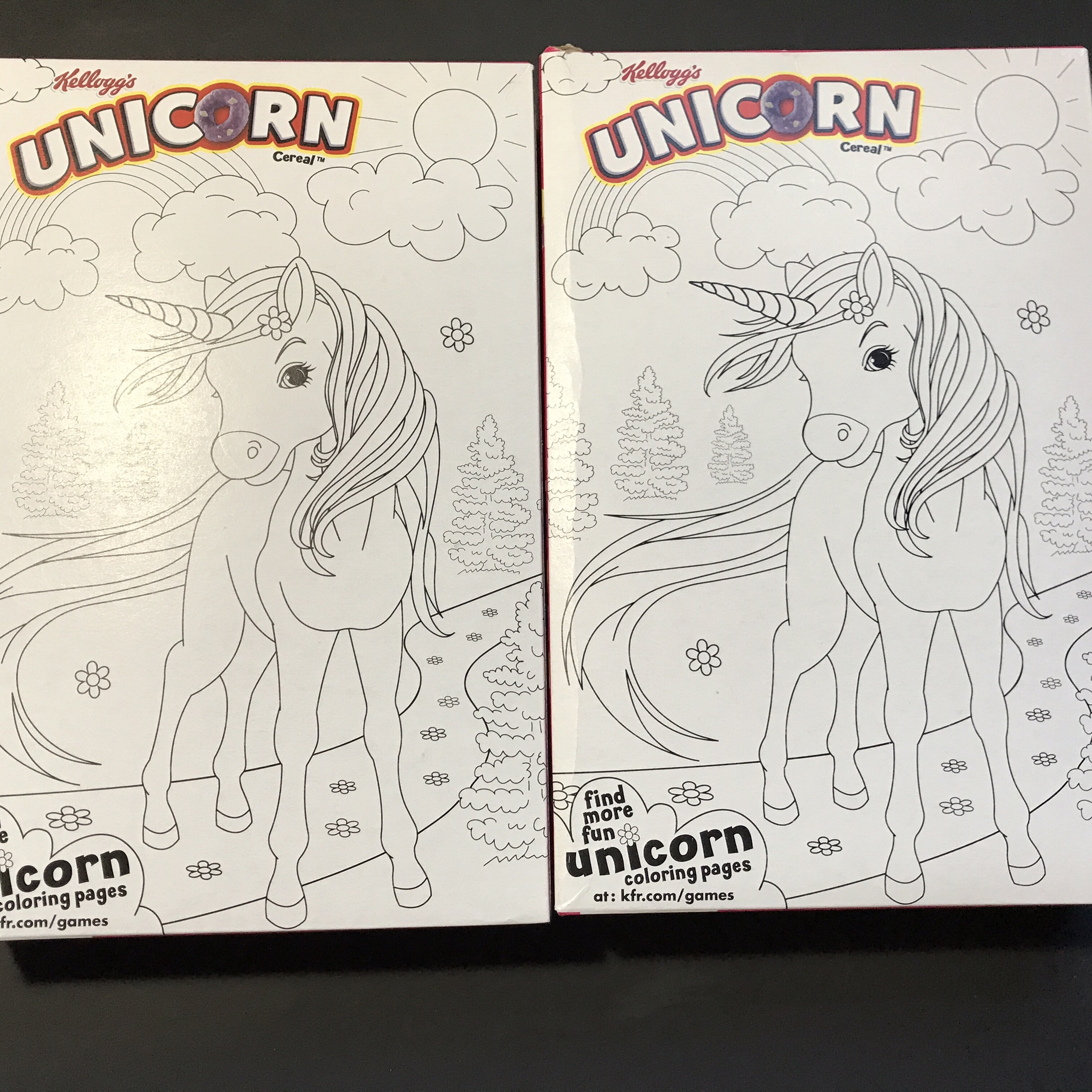 2 Boxes Of Limited Edition Unicorn Cereal By Depop
