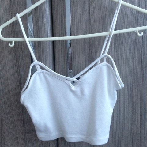 49bb78eb6a3 really cute brandy melville bralet   crop top   vest . ONE . - Depop