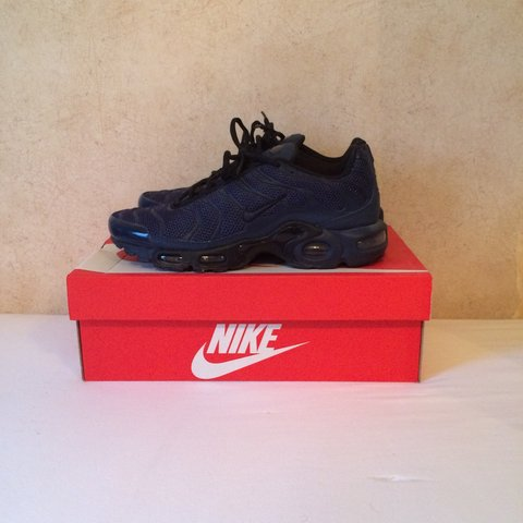 b654ee2210 Mens Nike Air max tns, navy blue and black. Size 6.5uk would - Depop