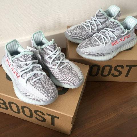 515765016  yaaazhou. last year. Netherlands. Adidas Yeezy Boost 350 V2 Blue Tint  Condition DS Available Sizes  (SOLD) EU 36 2 3 US 4.5 UK 4