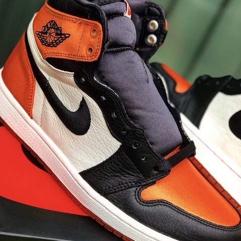 e0bb1d2165ef6c Theses are the Satin Shattered Backboards women s 8 but a 6 - Depop