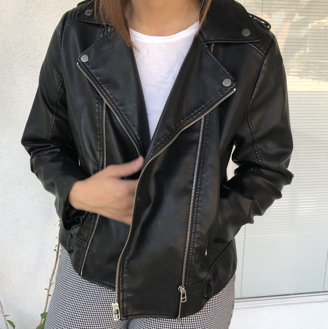 durable service new style & luxury value for money MANGO oversized leather jacket 💕 open to offers... - Depop