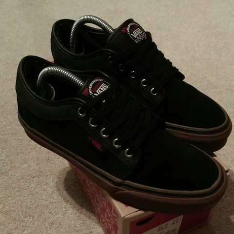 85e0107143 Vans chukka low X Independent skate co. Rare shoes