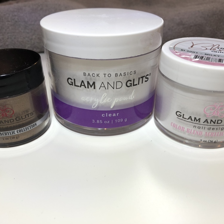 Glam & Glits acrylic powder worth nearly £60  In    - Depop
