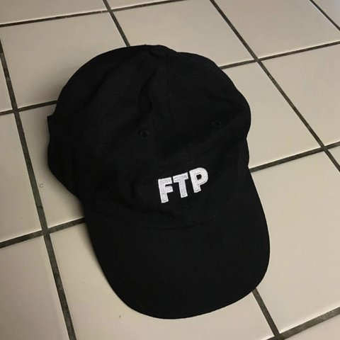 ca5c86098d7 FTP logo hat. From 2016. Slightly worn but no flaws. Looking - Depop