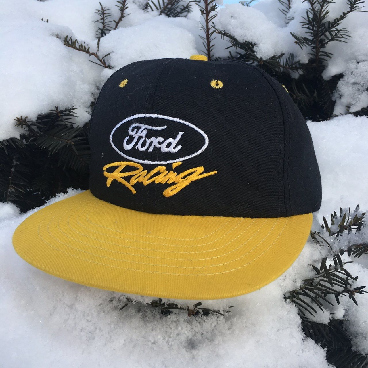 Ford racing snapback with a large spellout on the back from - Depop 9cb674e2c94