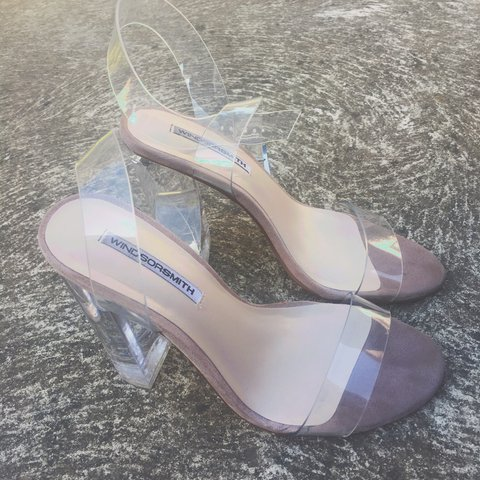fa290cfd7ac ✨Windsor Smith Gemma clear PVC sandal ✨ (Price worn once! - - Depop