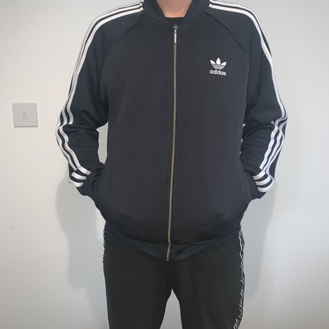 4eb0cd96d ADIDAS ORIGINALS BOMBER TRACKSUIT JACKET. SIZE - - GREAT TO - Depop