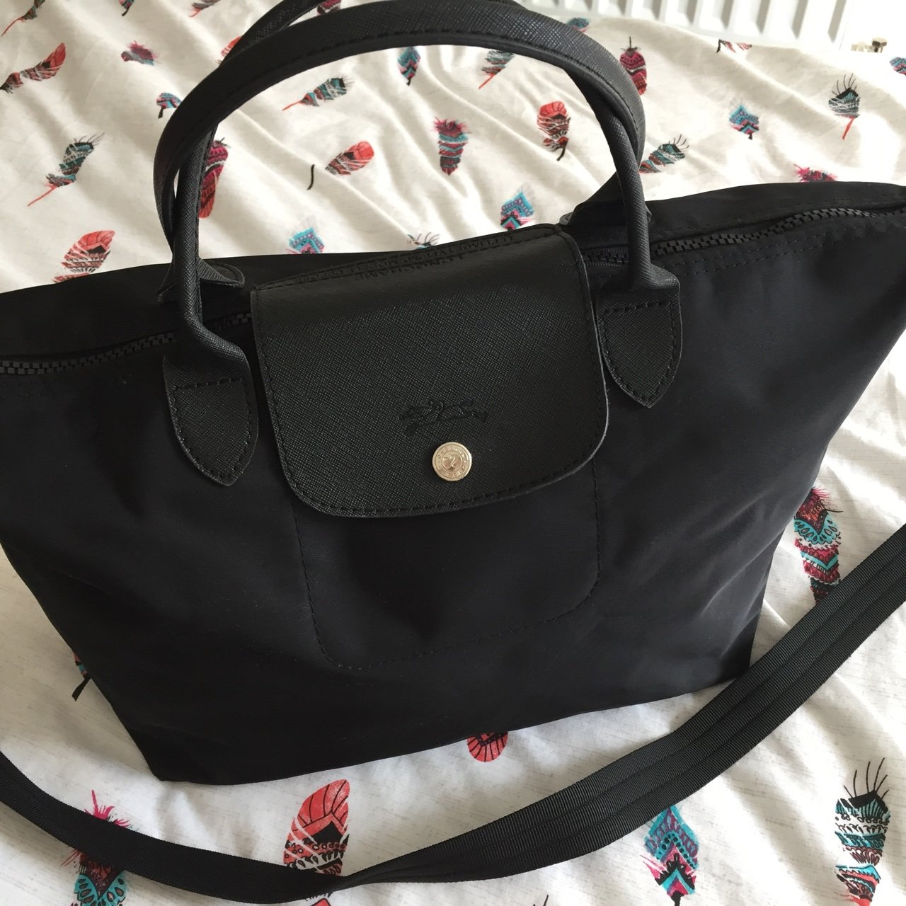 longchamp le pliage neo in excellent used condition. comes a - Depop cea702f45d030