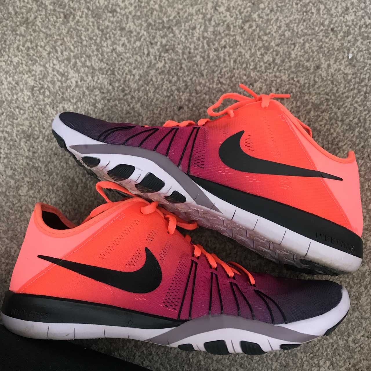Nike free TR6 trainers Worn once, only reason for Depop
