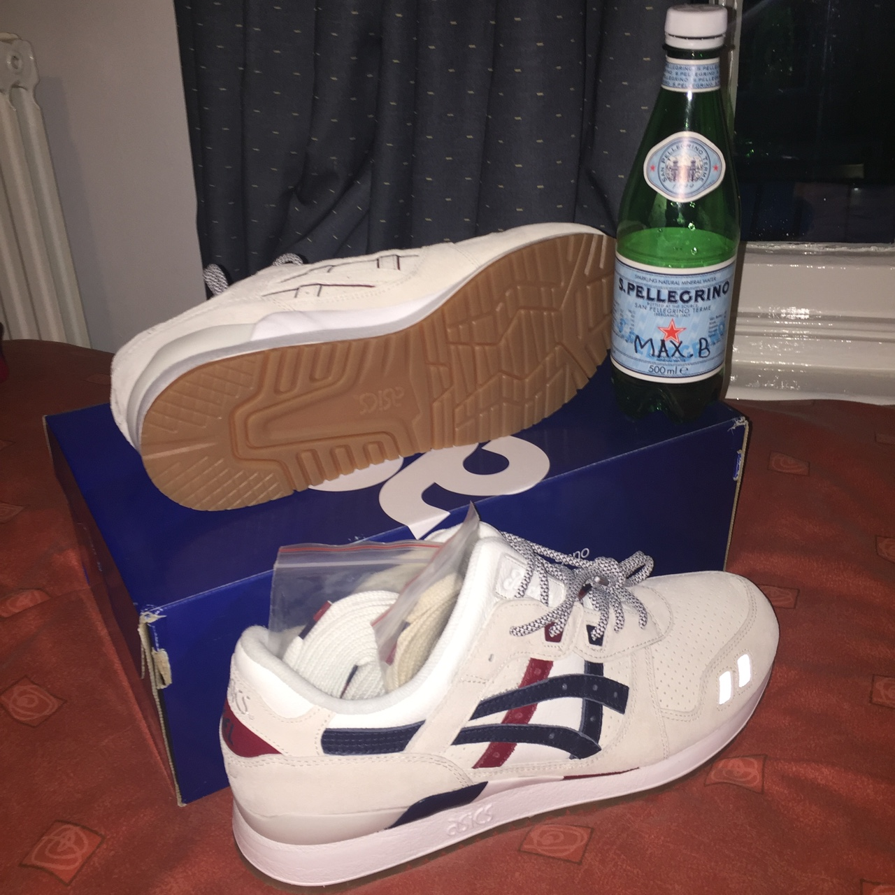 Asics gel lyte III x Packer Game Set Match. Sizes UK Depop