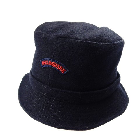 52b3267e Paul & Shark bucket hat coming in a thick wool material, in - Depop