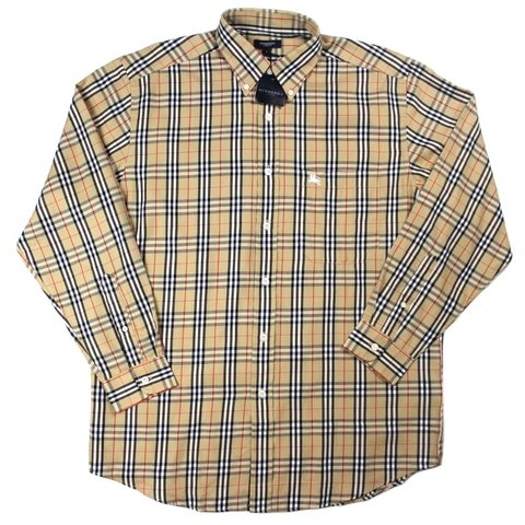 ff0a23df0 @m21vintage. 2 months ago. Manchester, United Kingdom. Deadstock Burberry  long sleeve shirt ...