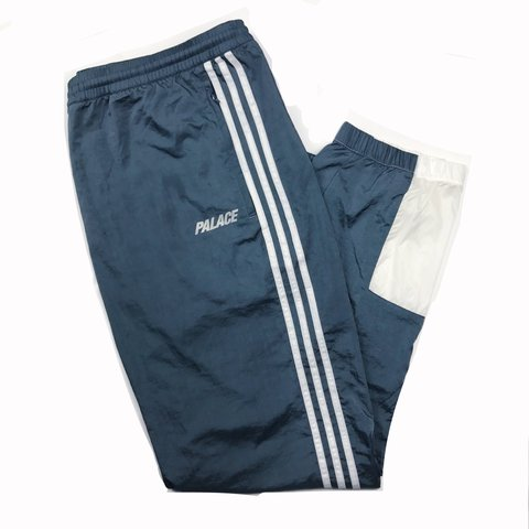 f681dd0c @archiesk. 2 years ago. United Kingdom. Palace x Adidas warm up pants /  tracksuit ...