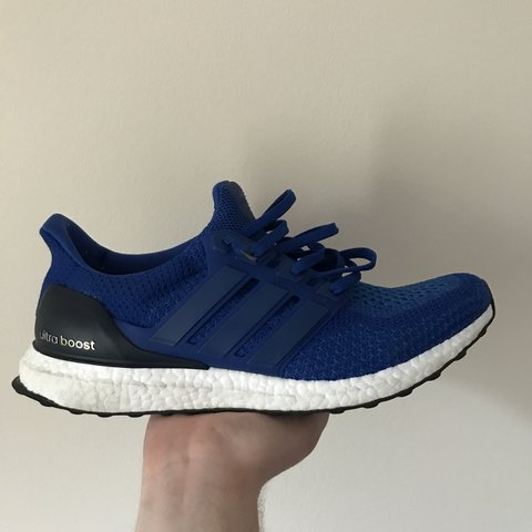 46945f3a35c0 Adidas Ultra Boost royal blue   Message me to make an offer - Depop