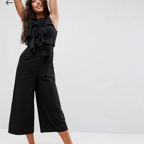 1884d0536a @libbyharrild. last year. Wallasey, United Kingdom. ASOS jumpsuit with tie  front detail ...