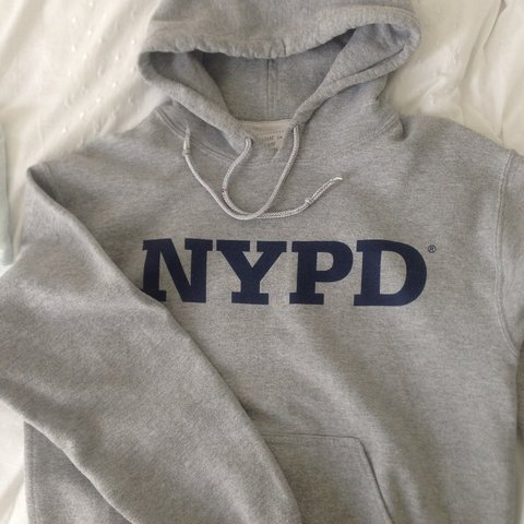 c2e4433e6 @daisyflolamb. 3 years ago. Richmond, United Kingdom. NYPD grey hoodie.