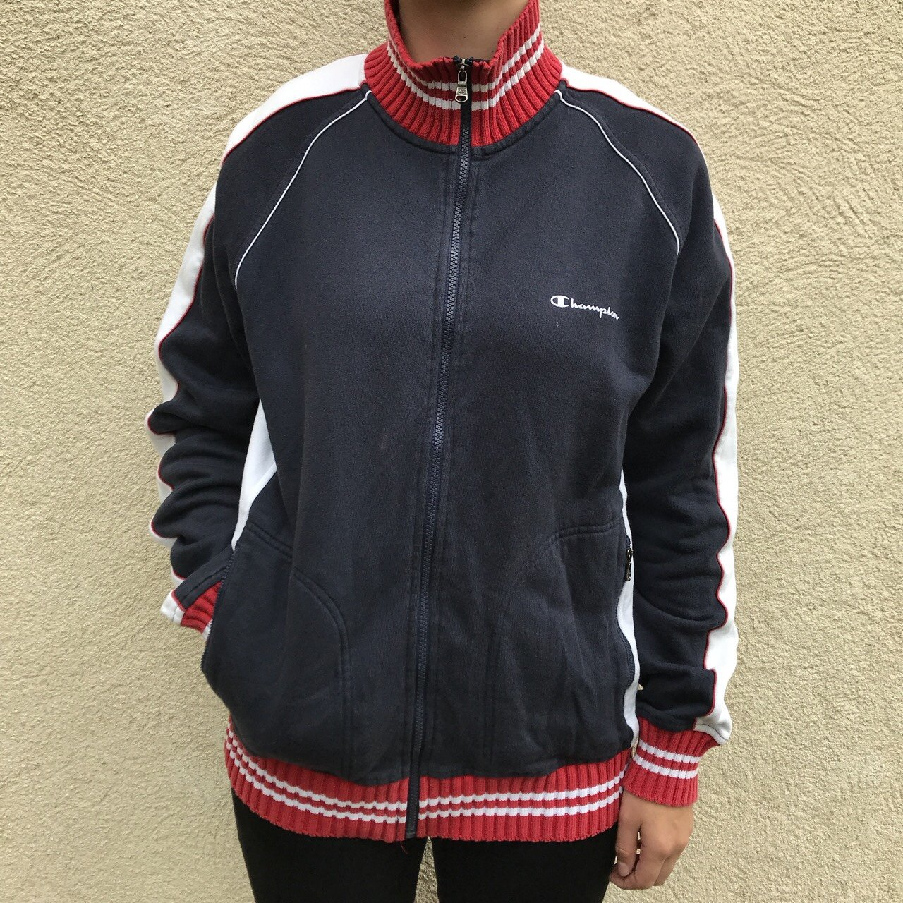 Vintage champion jacket size L women s 693181acaa