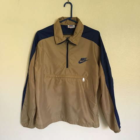 60d1db1f46 Vintage Nike windbreaker in a size Large (fits like a for If - Depop