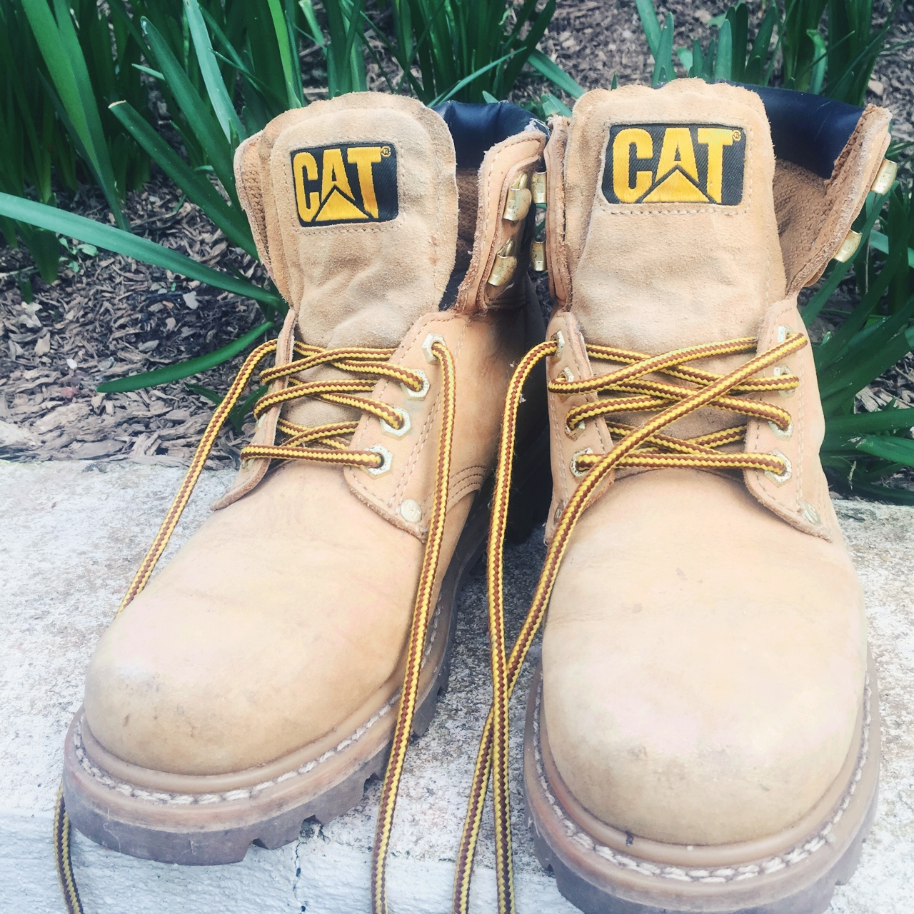 Vintage Shoes: Timberland Caterpillar