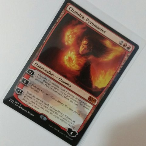 Chandra Pyromancer Planeswalker From M15 Magic The Out Depop