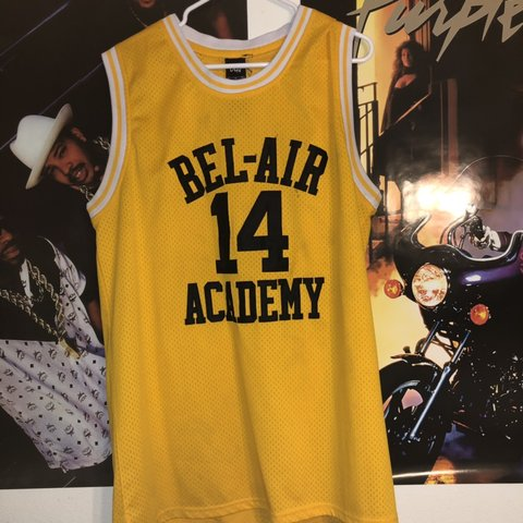"a37574546ddf FRESH PRINCE OF BEL AIR"" WILL SMITH BEL AIR ACADEMY JERSEY - Depop"
