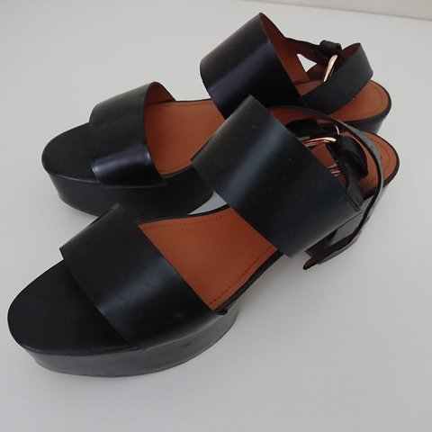 3aa5c085df0c REDUCED    Other Stories chunky block heel sandals