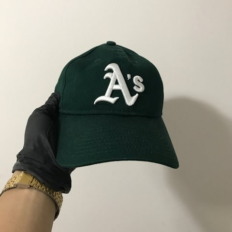 f4f78db2 ... coupon code for new era oakland as baseball cap worn once to match with  depop ec346